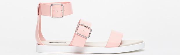 Forever 21 buckled sandals