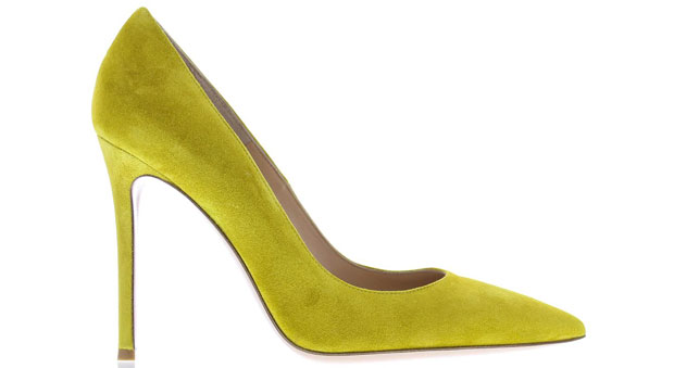 Gianvito Rossi Truce pumps yellow