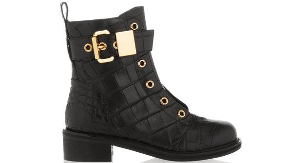 Giuseppe Zanotti combat boots