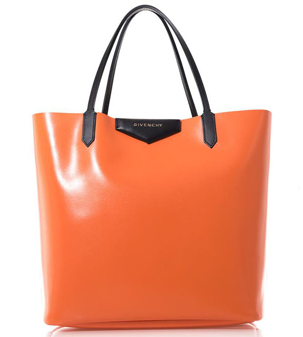 Givenchy Antigona orange tote