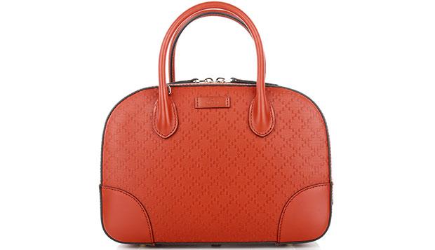 Gucci Bright Diamante orange bag