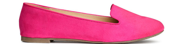 H&M loafers roze