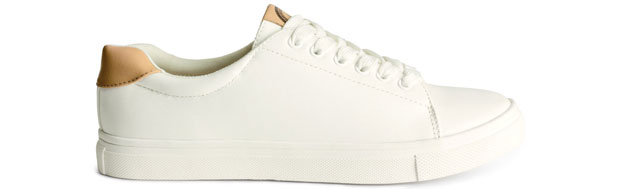 H&M sneakers wit