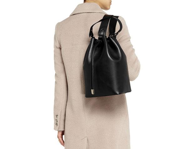 Iris and Ink Camden backpack bucket bag