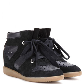 Isabel Marant Betty black sneakers