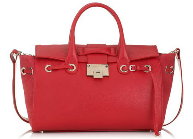 Jimmy Choo Rosa bag cherry