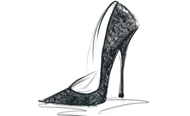Jimmy Choo sketch promo