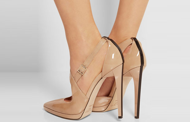 Jimmy choo Vinse nude pumps