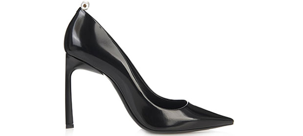 Lanvin pearl pumps black