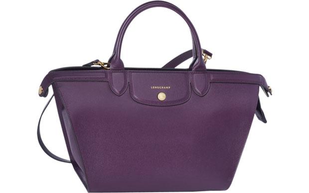 Longchamp Le Pliage Héritage purple