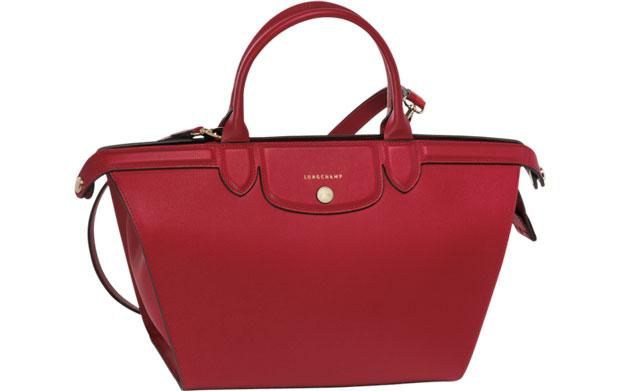 Longchamp Le Pliage Héritage red