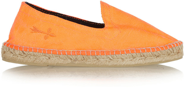 Manebi Ibiza orange espadrille