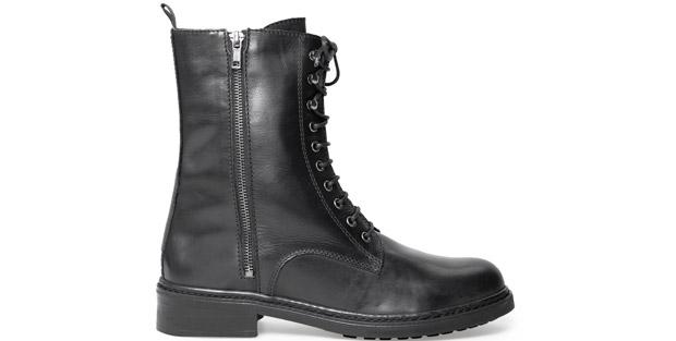 Mango military combat boots