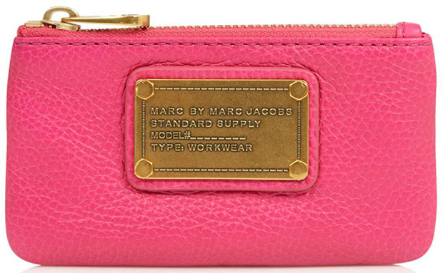 Marc by Marc Jacobs key holder neon pink