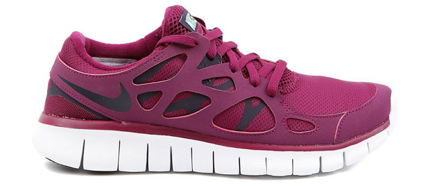 Nike Free Run 2 Rouge Bordeaux