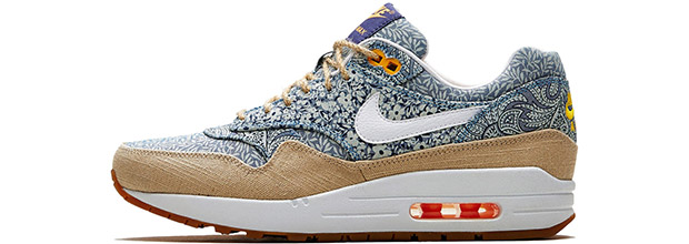 Nike x Liberty print Air Max 1 sneakers