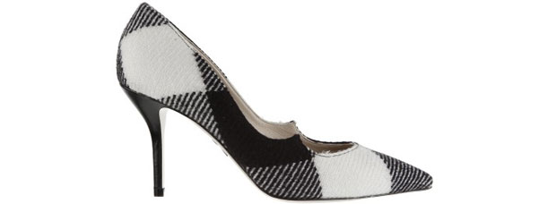 Paul Andrew Kimura black white pumps