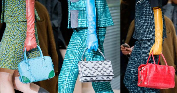Prada schoenen en tassen herfst winter 2015
