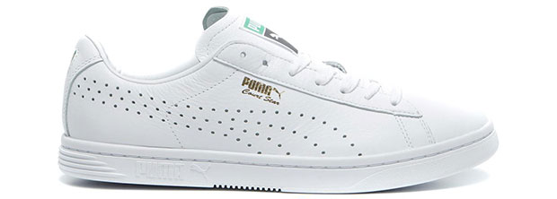 Puma Court star white sneakers