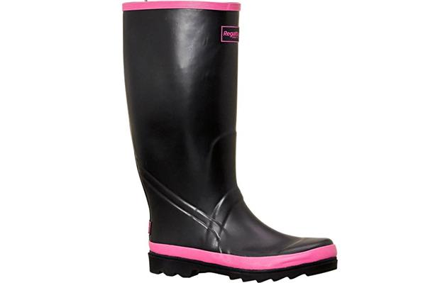 Regatta zwart roze regenlaarzen