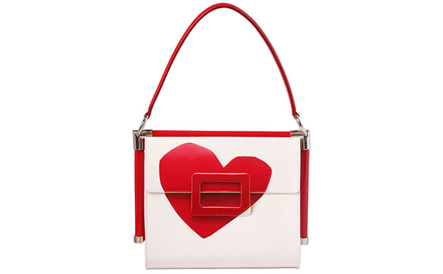 Roger Vivier small miss vive heart bag