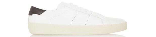 Saint Laurent classic court sneakers white