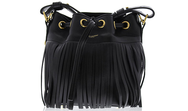 Saint Laurent Bucket s fringe
