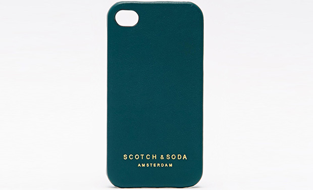 Scotch and Soda leather iPhone case