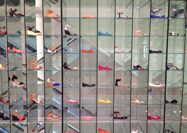 Shoe wall Fenwick
