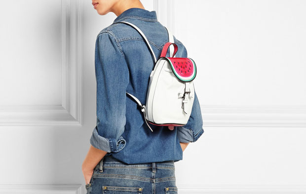 Sophia Webster Ziggy Watermelon backpack