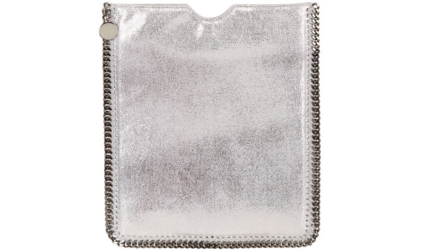 Stella McCartney shiny chamois iPad cover