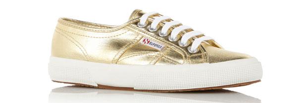 Superga Cotmetu sneakers gold