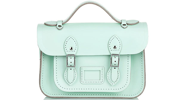 The Cambridge Satchel Company mint bag