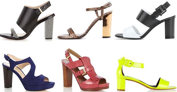 Trend chunky heels