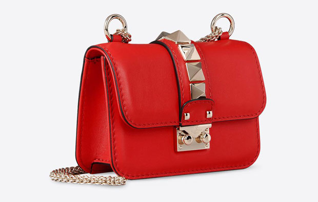 Valentino lock mini red