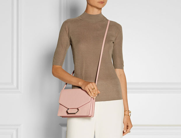 Victoria Beckham money clutch tassen herfst 2015