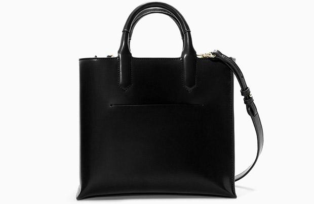 Zara black mini shopper herfst 2014